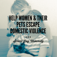 Help Abused Women & Their Pets Escape Domestic Violence